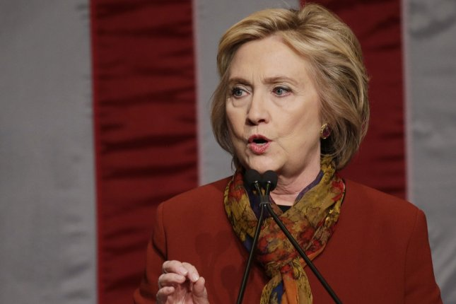 A new poll shows former Secretary of State Hillary Clinton in a dead heat with Sen. Bernie Sanders, D-Vt., in Nevada three days ahead of that state's Democratic caucuses. Photo by John Angelillo/UPI