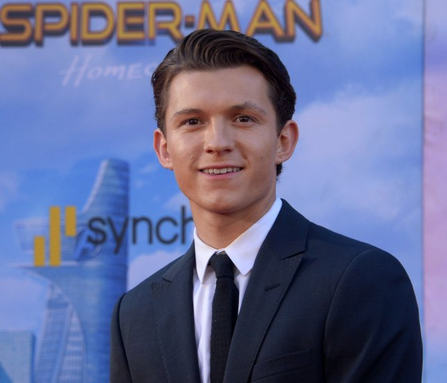 Cast member Tom Holland attends the premiere of Spider-Man: Homecoming in Los Angeles on June 28. Photo by Jim Ruymen/UPI