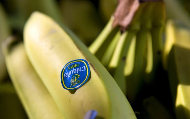 Former Chiquita executives face new charges of funding terrorism in Colombia after the company admitted to the same crime in 2007 when it settled with the U.S. Justice Department. File Photo by Aaron Kehoe/UPI