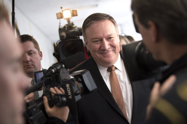 U.S. Secretary of State Mike Pompeo hosted a senior North Korean official on Wednesday. The two are to meet again on Thursday. File Photo by Kevin Dietsch/UPI
