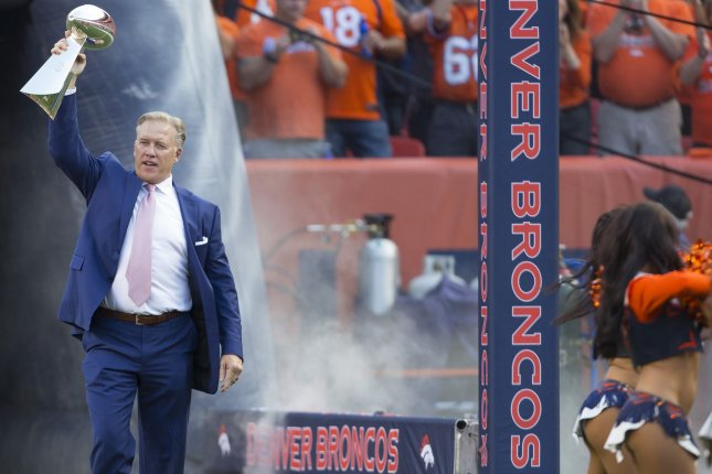Former Denver Broncos QB John Elway has helped the franchise to two Super Bowl appearances during his front office tenure. File Photo by Gary C. Caskey/UPI