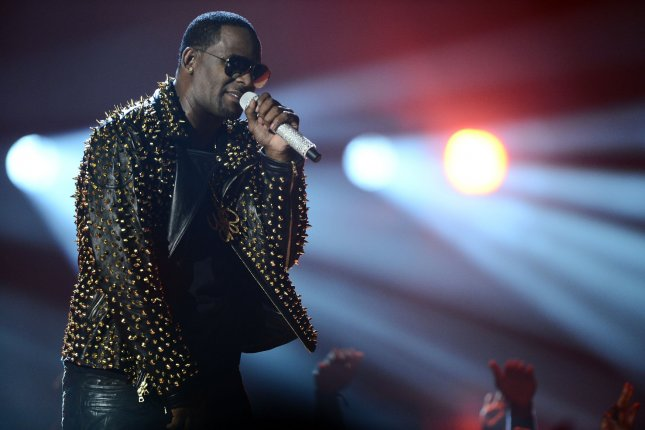 Singer R. Kelly is accused of sexual contact with a juvenile under age 18 in 2001. File Photo by Jim Ruymen/UPI