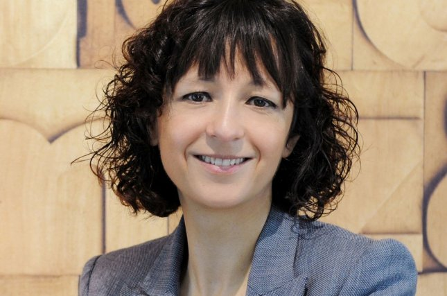 Emmanuelle Charpentier was jointly awarded the Nobel Prize in Chemistry Wednesday for her work on CRISPR/Cas9 genetic scissors with Jennifer Doudna. Photo by Hallbauer & Fioretti/Emmanuelle Charpentier/UPI