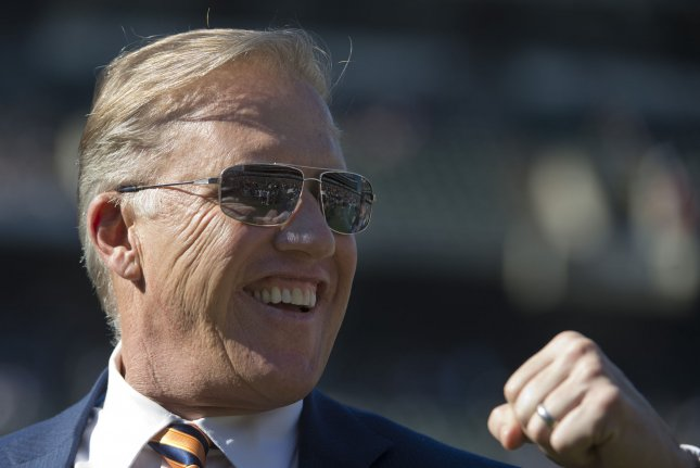 Denver Broncos executive John Elway, who was the Broncos' top football decision-maker since 2011, announced earlier this month he was turning over the day-to-day operations of the team to a full-time general manager. File Photo by Terry Schmitt/UPI