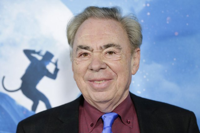 Composer Andrew Lloyd Webber has announced that the opening night shows for his Cinderella musical have been canceled due to a positive COVID-19 test. File Photo by John Angelillo/UPI