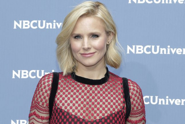 Kristen Bell arrives at the 2016 NBCUNIVERSAL Upfront at Radio City Music Hall on May 16, 2016 in New York City. Bell recently detailed her battle with depression noting, I felt worthless, like I had nothing to offer, like I was a failure. File Photo by John Angelillo/UPI