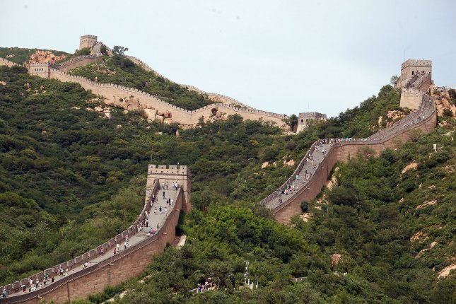 The Great Wall of China might be the most famous historical border wall. File Photo by Stephen Shaver/UPI