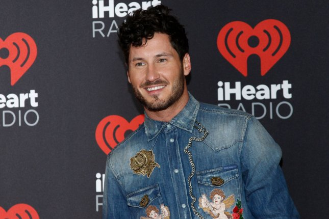 Val Chmerkovskiy attends the iHeartRadio Music Festival on September 23, 2016. File Photo by James Atoa/UPI