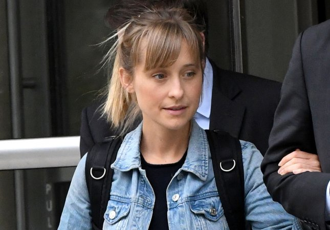 Former Smallville actress Allison Mack pleaded guilty to racketeering in connection to her role in an alleged sex cult in New York on Monday. File Photo by Louis Lanzano/UPI