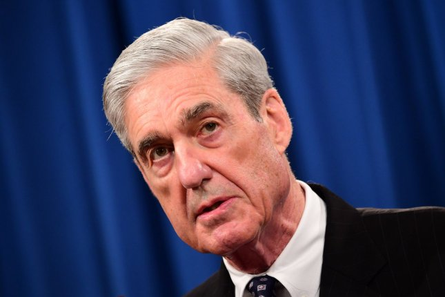 Former special counsel Robert Mueller, who has said his report into Russian meddling in the 2016 presidential election would stand as his testimony, has agreed pursuant to subpoenas to testify before Congress July 17. Photo by Kevin Dietsch/UPI