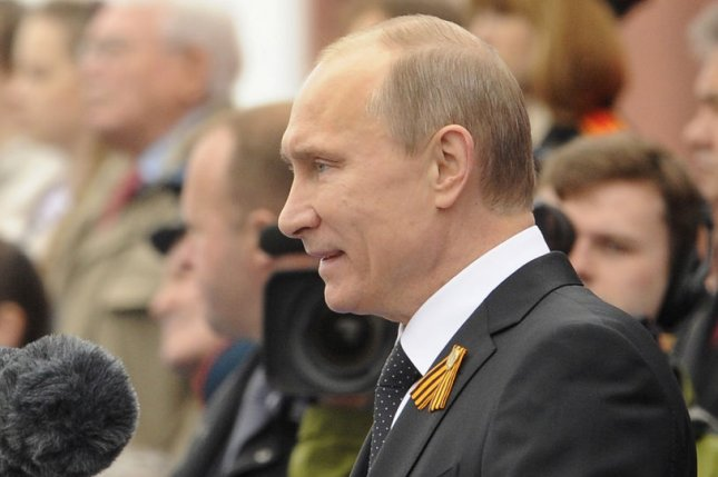 Russian President Vladimir Putin has given himself a pay cut. File Photo: UPI