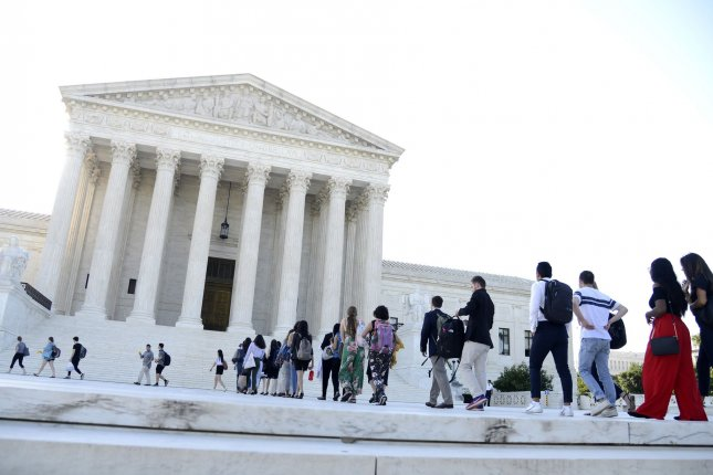 Several cases involving religious liberty are up for Supreme Court review in the session that begins Monday. Photo by Mike Theiler/UPI