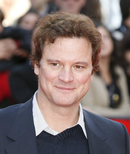 Actor Colin Firth arrives on the red carpet at the Rome Film Festival in Rome on October 20, 2007. Firth is in Rome with his film And When Did You Last See Your Father. (UPI Photo/David Silpa)