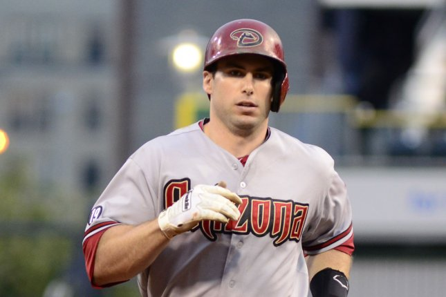 Arizona Diamondbacks' Paul Goldschmidt. UPI/Archie Carpenter