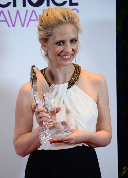 Sarah Michelle Gellar attends the People's Choice Awards on January 8, 2014. The actress played the title character on Buffy the Vampire Slayer. File Photo by Jim Ruymen/UPI