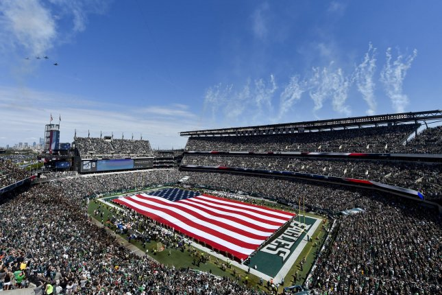 Last week, the Philadelphia Eagles informed season-ticket holders that they had the choice of deferring their tickets for the 2020 season. File Photo by Derik Hamilton/UPI