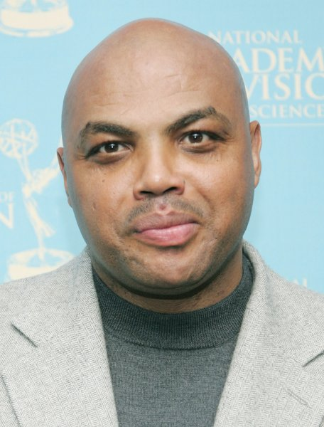Charles Barkley arrives to the twenty-ninth annual sports Emmy Awards ceremony where he is one of the presenters at the Rose Theater on April 28, 2008 in New York. The awards, presented by the National Academy of Television Arts and Science, honors sports T.V. personalities and programming.(UPI Photo/Monika Graff)