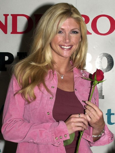 NYP2001050205 - 02 MAY 2001- NEW YORK, NEW YORK, USA: BayWatch Hawaii TV star Brande Roderick at a May 2, 2001, New York promotional event, is named PlayBoy's 2001 Playmate of the Year. rlw/ep/Ezio Petersen UPI