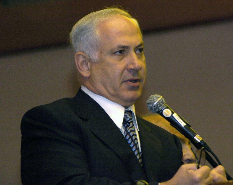 Israeli Likud Party Chairman Binyamin Netanyahu (UPI Photo/Debbie Hill)