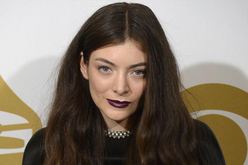 Lorde. UPI/Phil McCarten