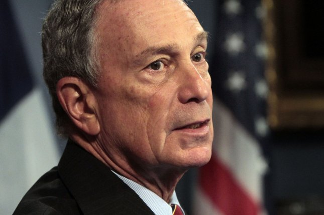 Former New York City Mayor Michael Bloomberg announced Monday that he won't seek the presidency with an independent bid, as has been speculated for weeks. In announcing his decision in a column in Bloomberg View, the Republican cited multiple reasons for his decision, but none bigger than his opposition of candidates Donald Trump and Sen. Ted Cruz, who he feels might receive a boost stemming from a Bloomberg run. File photo by Richard Drew/UPI