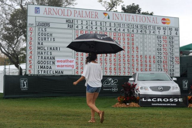 The tournament that evolved into the Arnold Palmer Invitational will be played for the 51st time this week, but The King will not be there to hold court -- other than in spirit. File Photo by Kevin Dietsch/UPI