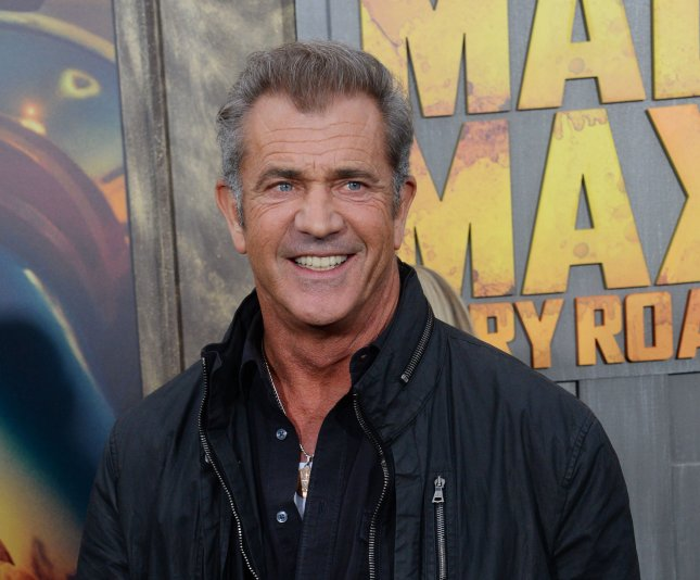 Actor Mel Gibson attends the premiere of the motion picture thriller Mad Max: Fury Road at TCL Chinese Theatre in Los Angeles on Thursday. Photo by Jim Ruymen/UPI