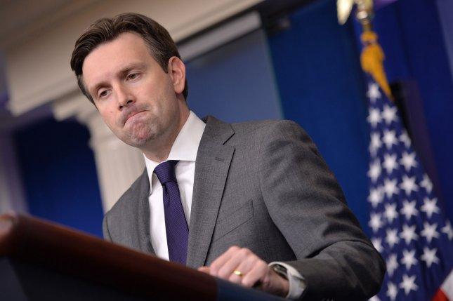 White House Press Secretary Josh Earnest says the Obama administration is working to move review process for Keystone XL oil pipeline above politics. UPI/Kevin Dietsch
