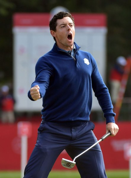 Rory McIlroy isn't the top seed in WGC-Match Play, but he's up there. Kevin Dietsch/UPI