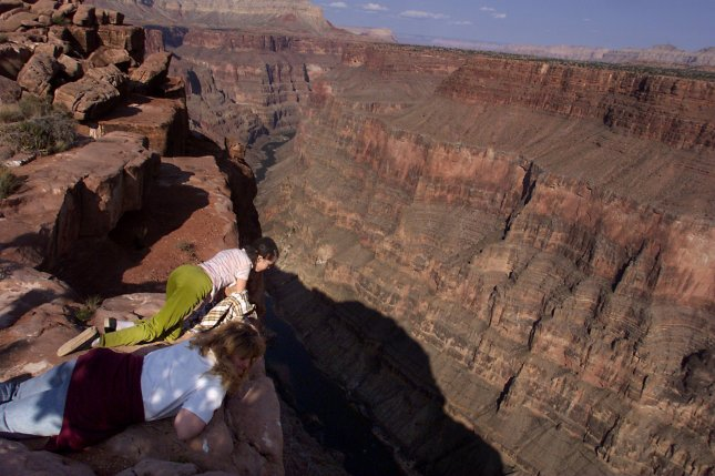 Five people involved in a helicopter crash at the Grand Canyon have died. Two others were in critical condition more than two weeks after the crash. File Photo by Terry Schmitt/UPI