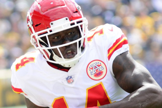 best sneakers 70c0d 9f5ac Chiefs' Sammy Watkins not expected to play in Week 10 - UPI.com