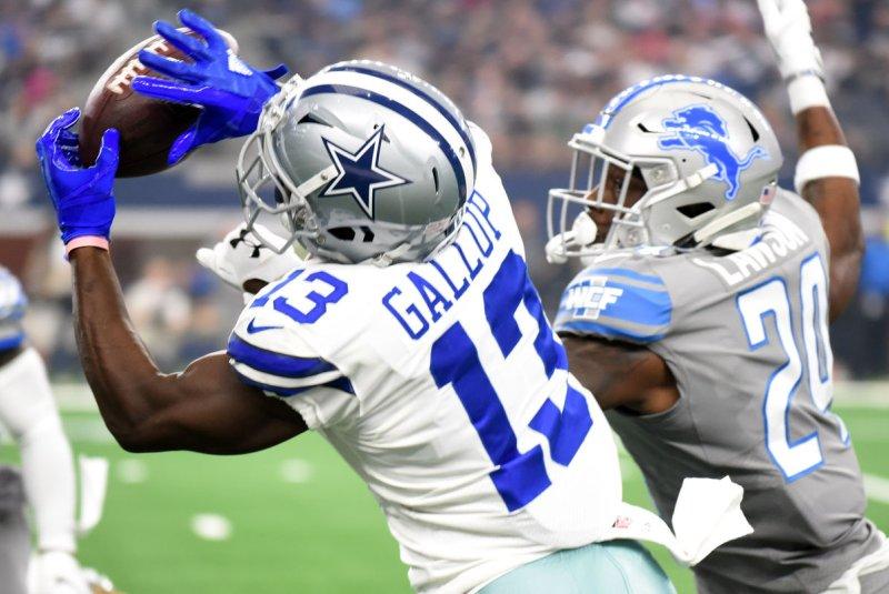 Cowboys WR Gallup in line to play vs. Redskins - UPI.com