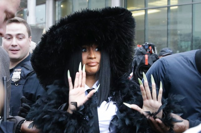 Cardi B attended a hearing in Queens County Criminal Court on Tuesday. Photo by John Angelillo/UPI