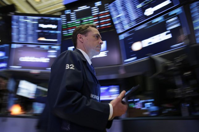 The previous session with the Dow Jones Industrial Average down over 2000 points and 10 percent which was the worst since the Black Monday market crash in 1987. Photo by John Angelillo/UPI