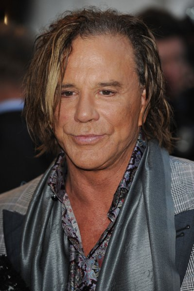 American actor Mickey Rourke attends the GQ Awards at Royal Opera House in London on September 8, 2009. UPI/Rune Hellestad