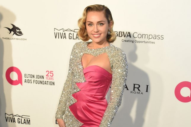 Miley Cyrus discussed on Jimmy Kimmel Live! her controversial Vanity Fair photo shoot from 2008. File Photo by Gregg DeGuire/UPI