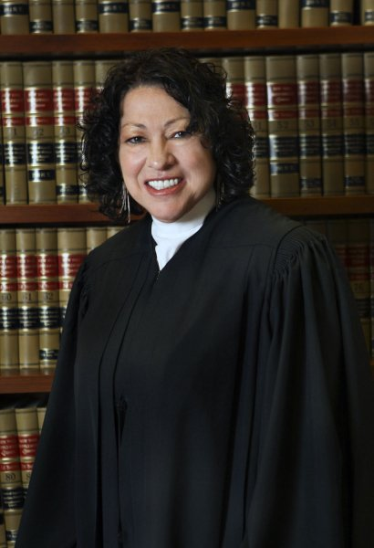 Federal appeals judge Judge Sonia Sotomayor, pictured in a 2009 photo, was announced as U.S. President Barack Obama's Supreme Court Justice nominee, replacing Justice David Souter, in Washington on May 26, 2009. (UPI Photo/White House Press Office)