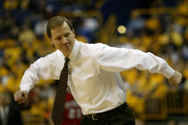 The Oregon Ducks and head basketball coach Dana Altman are seeded No. 1 in the West Region of the NCAA Tournament and are positioned well to advance to the Final Four. File Photo Xenia Naert/UPI