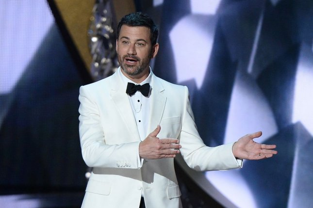 Jimmy Kimmel has apologized for using blackface in his comedy sketches years ago. File Photo by Jim Ruymen/UPI