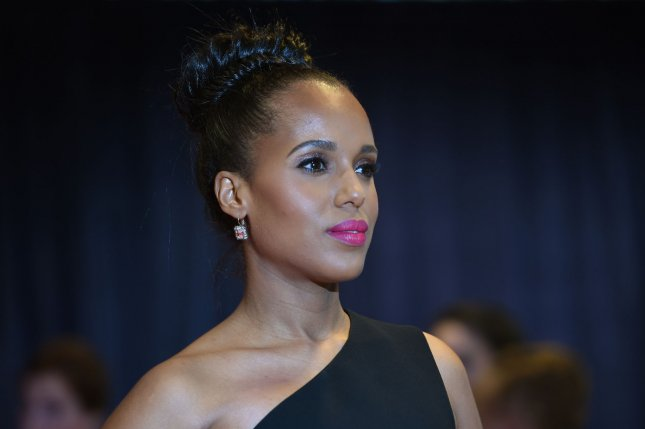 Kerry Washington at the White House Correspondents' Association gala on April 30. The actress is developing a new ABC series. File Photo by Molly Riley/UPI