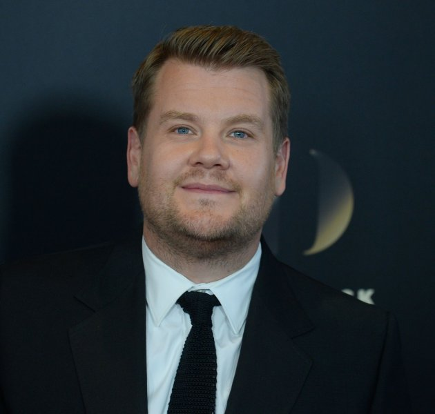 James Corden attends the 20th annual Hollywood Film Awards on November 6, 2016. Corden and Neil Patrick Harris took part in a Broadway musical riff-off Monday. File Photo by Jim Ruymen/UPI