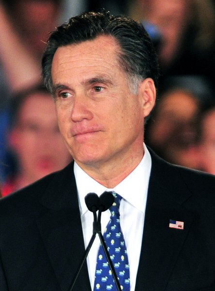 Republican presidential hopeful Mitt Romney in Columbia, S.C., Jan. 21, 2012. UPI/Kevin Dietsch