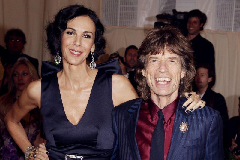 Mick Jagger says goodbye at L'Wren Scott's funeral