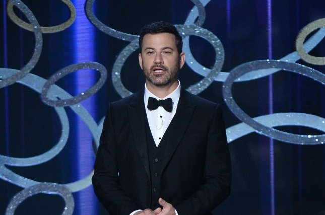 Jimmy Kimmel has signed on to be a judge for The Gong Show on ABC. File Photo by Jim Ruymen/UPI