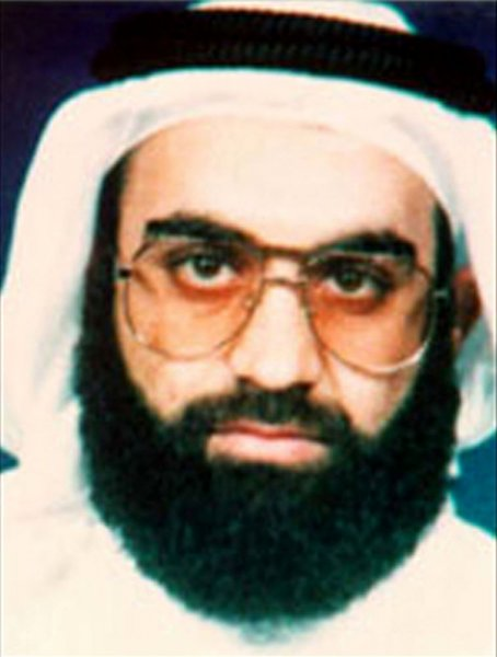 Khalid Shaikh Mohammed, the alleged Sept. 11 mastermind seen here in his 2001 FBI wanted poster, told a U.S. military court today, June 5, 2008 in Guantanamo Bay, that he wishes for the death penalty so that he can become a martyr. Mohammed and four accused co-conspirators appeared in court at the Guantanamo Bay U.S. naval base in Cuba for the first time on charges that could result in their execution. (UPI Photo/FBI Handout/Files)