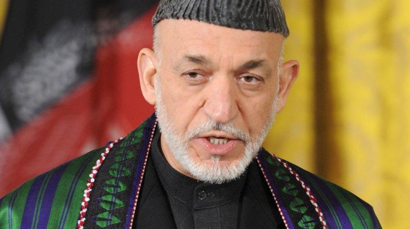 Afghan President Hamid Karzai. UPI/Mike Theiler