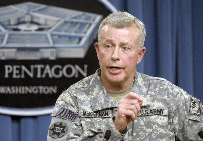 U.S. Army Gen. David McKiernan,