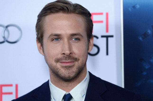 Ryan Gosling attending the premiere of The Big Short on November 12, 2015. Gosling stars as a down-on-his-luck detective alongside Russell Crowe in the latest trailer for their upcoming film, The Nice Guys. File Photo by Jim Ruymen/UPI