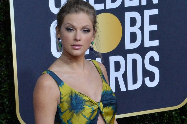 Pop star Taylor Swift's Folklore is No. 1 on the Billboard 200 album chart this week.File Photo by Jim Ruymen/UPI