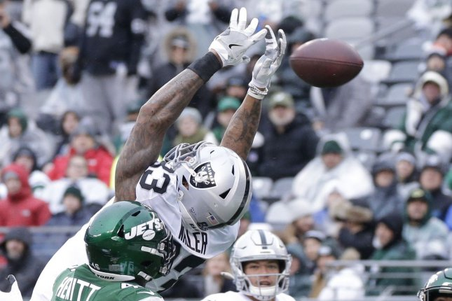 Oakland Raiders tight end Darren Waller (83) should perform well for fantasy football teams in Week 5 against the Kansas City Chiefs. File Photo by John Angelillo/UPI
